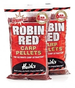 Pelety Dynamite Baits Robin Red 4mm/900g