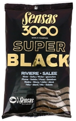 Sensas 3000 Dark Salty Riviere 1kg