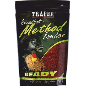 Traper Method feeder Ready Jahoda 750g