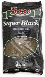 Sensas 3000 Super Black Dark Gardons Sale Roach 1kg