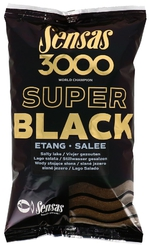 Sensas 3000 Super Black Dark Etang Salee 1kg