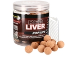 Starbaits plovoucí fluo boilie Red Liver 14mm