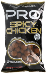 Starbaits boilie Pro Spicy Chicken 20mm 1kg